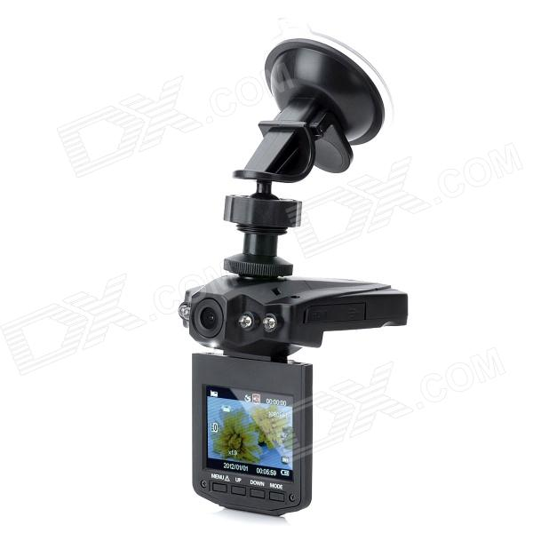 Mini 2.0'' TFT 5.0MP CMOS Wide Angle Digital Car DVR Camcorder w/ 4-IR LED Night Vision / G-sensor