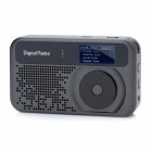 "PPS006 1,5 ""LCD Digital Audio Broadcasting HD DAB FM-радио - черный"