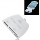 Smart Micro USB Card Reader for Samsung i9100 / i9220 / i9300 / i9000 - White
