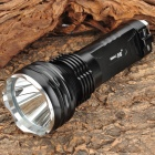 Small Sun ZY-T08 635lm 5-Mode White Light Flashlight - Black (2 x 18650)