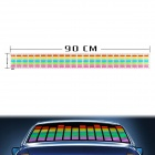 Car Sound Control Sensor Music Rhythm LED Colorful Light Lamp (90 x 10cm)