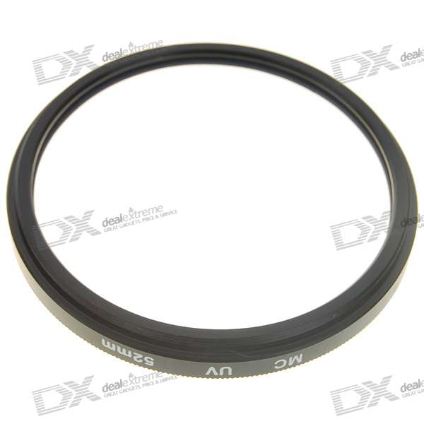 Multi-Coated UV Lens Filter (52mm)