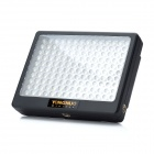 YN140 9W 6000K 1000Lux 140-Flash LED Lámpara Video - Negro