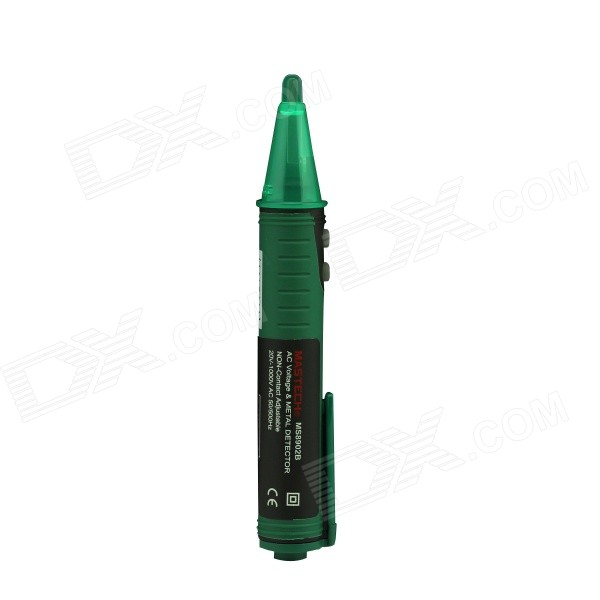 MASTECH MS8902B Non-Contact Adjustable Voltage Detector - Green (1 x 23A) newest upgrade treasure hunting gold detector safety inspection beach detection md 4050 metal detector