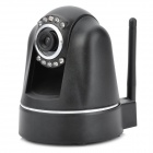 NEO Wireless 300KP CMOS Network Surveillance IP Camera w/ 9-LED IR Night Vision - Black