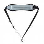 CADEN FastGunman Anti-Slip Quick Sling Shoulder Belt Strap for DSLR / Cameras - Black + Grey