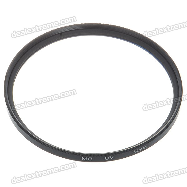 Multi-Coated UV Lens Filter (72mm)