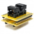 SSOP8 to DIP8 Programmer Adapter for Xeltek - Yellow
