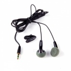 Awei Stylish Earphone with Clip for Cell Phone / MP3 / MP4 + More - Black (3.5mm Jack)