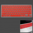 "Silicone Keyboard Protective Cover for Apple MacBook Air 13.3"" - Red"