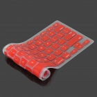 "Protector de teclado de silicona para Apple MacBook Air 13.3"" - Rojo"