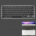 "Silicone Keyboard Protective Cover for Apple MacBook Air 13.3"" - Black"