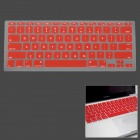 "Silicone Keyboard Protective Cover for Apple MacBook Air 11.6"" - Red"