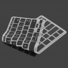 "Capa protetora de teclado de silicone para Apple MacBook Air 11.6 ""- Preto"