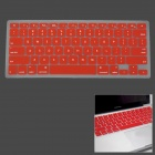 "Silicone Keyboard Protective Cover for Apple MacBook Pro 13"" / 15"" / 17"" - Red"