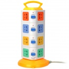 LENGON XD-4 Handheld Vertical Stand 16 Socket Power Strip (AC 220~250V / 3-Flat-Pin Plug)