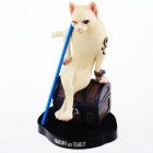 Sexy Beauty Cat Style Forest Figure - Beige