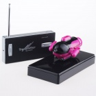 Rechargeable 2-Channel Radio Control R/C Submarine Toy - Deep Pink + Black