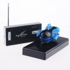 Rechargeable 2-Channel Radio Control R/C Submarine Toy - Blue + Black