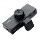 1.5'' TFT LCD 5.0MP CMOS HD 1080P Wide Angle Digital Car DVR Camcorder - Black