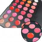 Portable 32-Color Cosmetic Makeup Lipstick Palette - Multicolored