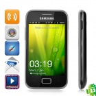 "Samsung Galaxy Ace Plus S7500 Android 2.3 WCDMA Bar Phone w/ 3.7"" Capacitive Screen and GPS - Black"