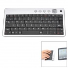Voliee BK9007 80-Key Bluetooth v3.0 Keyboard for Ipad / Iphone / iTouch - White + Black