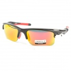 OREKA WG002 Outdoor Sports Cycling UV400 Protection Goggles - Black Frame