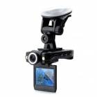 2,0'' TFT 5.0MP CMOS Sensor Weitwinkel Digital Car DVR Camcorder w / 2-LED Night Version - Black