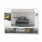 27MHz Mini recargable de 2.5 CH R / C Battle Tank - Gris