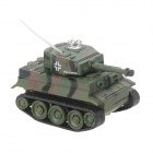 Mini 27MHz Rechargeable 2.5-CH R/C Battle Tank - Camouflage Red