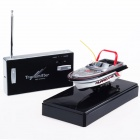 Mini Rechargeable 2-Kanal R / C Radio Control Boat Toy - Red + Black + White