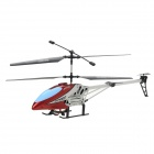40MHz Rechargeable 3.5-CH Alloy Radio Control R/C Helicopter - Red