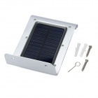 1W 6000K 100LM exterior Solar Powered PIR Sensor LED Lâmpada