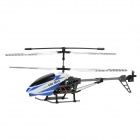 40MHz Rechargeable 3.5-CH Alloy R/C Helicopter w/ Gyroscope - Blue