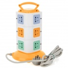 LENGON XD-3 Handheld Vertical Stand 12 Socket Power Strip (AC 220~250V / 3-Flat-Pin Plug)