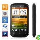 "HTC Desire C A320 Android 4.0 WCDMA Bar Phone w/ 3.5"" Capacitive Screen, GPS and Wi-Fi - Black"