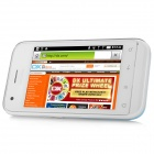 "T9989 Android 2.3 GSM Bar Phone w/ 3.5"" Capacitive Screen, Dual-Band and Wi-Fi - Blue + White"