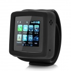 "GSM 1.5"" Resistive Watch Phone w/ Replaceable Silicone Wristband / Camera / Bluetooth - Black"