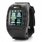 N388 GSM 1.3″ Resistive Touch Screen T9 Proprietary Watch Phone w/ Bluetooth / Camera – Black