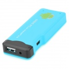 A22 Android 4.0 1GB DDR3 4G ROM Mini PC ж / Wi-Fi / TF / HDMI - Синий (4 Гб)