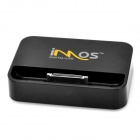 IMOS USB Charging Dock-Station für iPhone 4 / 4S / 3G / 3GS / iTouch - Schwarz