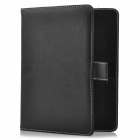 "Protective PU Leather w/ Buckle for 8"" Tablet PC - Black"