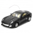 Rechargeable 2-Channel Gravity Remote Control R/C Car - Black