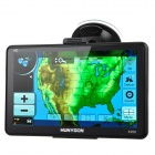 "HUNYDON K200 7"" Resistive Screen LCD Win CE 6.0 GPS Navigator with USA Map"