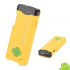 A22 Android 4.0 1GB DDR3 4G ROM Mini PC w/ Wi-Fi / TF / HDMI - Yellow (4GB)