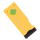 A22 Android 4.0 1GB DDR3 4G ROM Mini PC w/ Wi-Fi / TF / HDMI - Yellow (4GB ROM)