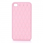 Protective CrystalPlastic Back Case for Iphone 4 / 4S - Pink