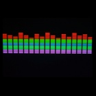 Car Sound Control Sensor Music Rhythm LED Colorful Light Lamp (70 x 16cm)