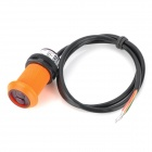 K1208066 Infrared Obstacle Avoidance Sensor for Smart Car - Orange + Black
